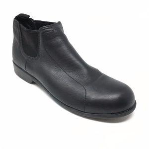 Women's HyTest Steel Toe Ankle Boots Size 9.5M